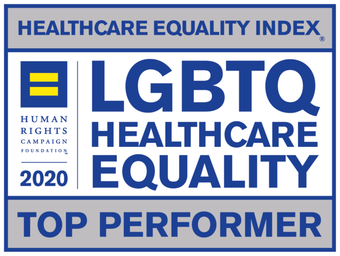 LGBTQ Health Care Equality Top Performer in 2020